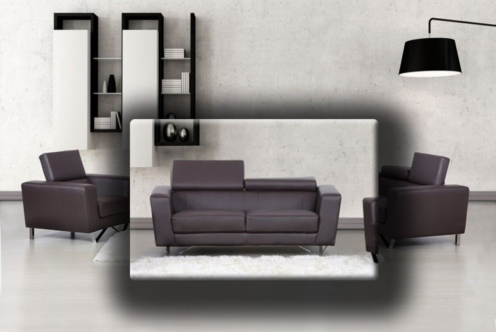 Aperon Top Grain Leather Sofa