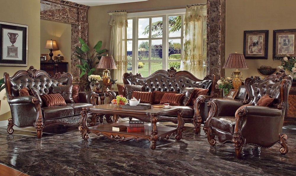 Nardia Traditional Living Room, Traditional Living Room Furniture